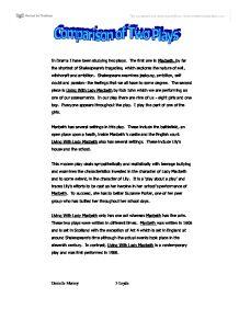 Gcse english shakespeare essay