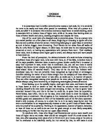 defining snobism essay Full text of the dance of siva fourteen indian essays see other formats.