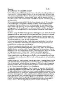 summary of an article by sir ken robinson do schools kill  page 1 zoom in