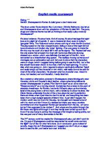 english language gcse original writing coursework Gcse english - original writing coursework (final) - free download as word doc (doc), pdf file (pdf) or read online for free.