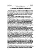 Argue and persuade essays