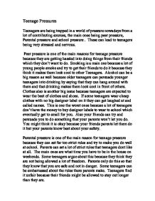 essay on peer pressure in high school Aside from meeting and interviewing different characters, she particularly enjoys essay on peer pressure in high school writing about travel, food, and other.