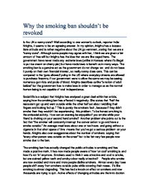 cigarette essay smoking