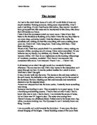 Help writing this dramatic monologue for english courework?