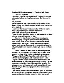 English creative writing coursework...?!?