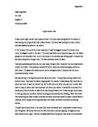 My fairytale story  - GCSE English - Marked by Teachers com