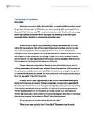 Creative writing gcse english coursework