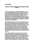 arthur miller essays tragedy