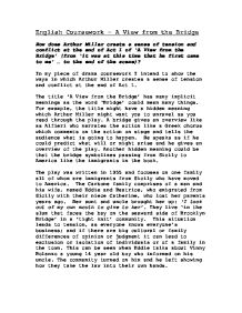 arthur miller uses to create dramatic tension in acts essay The crucible movie vs the play (text) essay may 10, 2017 0 comment the crucible is the famous play created by the american playwright arthur miller in 1953 it is the classic american drama and dialogues, which make the story more dramatic and allow viewers to sympathize the.