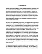 Reflective Statement Essay Example