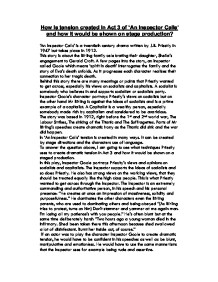 how is tension created in act Essay plan for blood brothers question: what techniques does willy russell use to create tension in the final scenes of 'blood brothers'  useful for structuring.