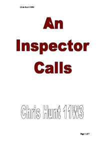 an inspector calls modern mortality An inspector calls is a modern morality play disguised as a detective drama show how priestley uses the conventions of the detective story to put over a moral message to the audience the.