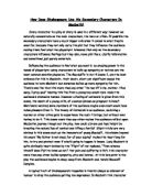 the supernatural exploration of shakespeare macbeth english literature essay Shakespeare and the supernatural essay from the year 2013 in the subject english - history of literature, eras, grade:.