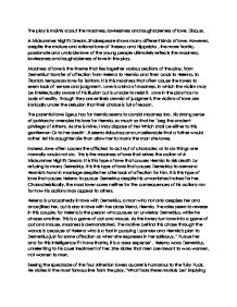 Science Essays Topics  A Midsummer Nights Dream Page  Zoom In Good High School Essay Topics also Starting A Business Essay A Midsummer Nights Dream The Play Is Mainly About The Madness  English Essay Speech
