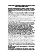 anthony and cleopatra essay