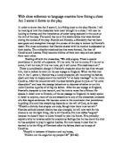 Hamlet soliloquy essay conclusion