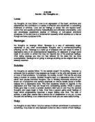 Soliloquies Essay - Critical Essays - eNotes com