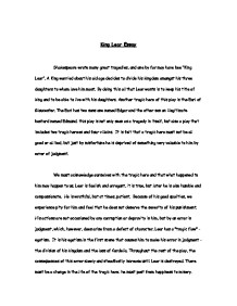 Essays On Importance Of English Page  Zoom In A Modest Proposal Ideas For Essays also Bullying Essay Thesis King Lear Essay  Gcse English  Marked By Teacherscom Thesis In An Essay