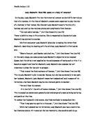 lady macbeth more tragic than fiend essay