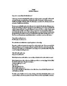 Urbanisation case study ledc