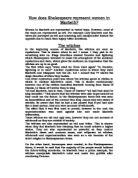 macbeth conflict essay