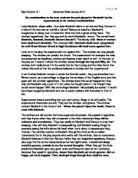 Essays on macbeth's conscience