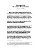 contrast the opposing themes of love and hate in the play romeo  romeo and juliet the contrast of love and hate