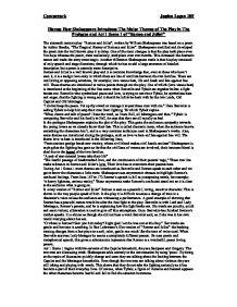 essays comparing william shakespeare to arthur brooke
