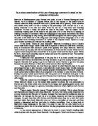romeo & juliet mercutio character analysis essay Romeo and Juliet Character Analysis - Mercutio