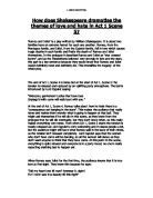 the theme of undying love in romeo and juliet by william shakespeare A secondary school revision resource for gcse english literature about the  themes of shakespeare's romeo and juliet.