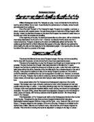 Gcse essay questions tempest