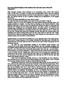 blood brothers social class essay Hi guys, i really need some help with my gcse blood brothers essay we have to explore and analyse how the themes of power,social class and fate are repres.