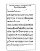 willy russell portray serious issues essay Educating rita essay educating rita is a play written by willy russell there are quite a few serious issues that are explored and incorporated in the story.