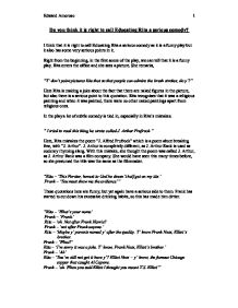 educating rita is a dramatic comedy english literature essay A secondary school revision resource for gcse english literature about willy  russell's educating rita.