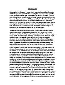 educating rita essay bored of studies