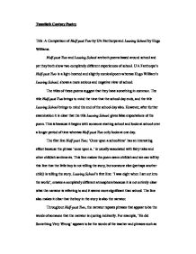 half past two by u a fanthorpe english literature essay Essay writing guide learn the art of brilliant essay writing with help from our teachers  english literature (8,131) geography (2,549) healthcare (1,941) history.