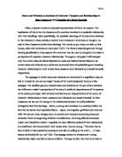 example monologue trapped Start studying chapter 7-12 and assuring your partner that you're committed to the relationship are examples of waynetta is beginning to feel trapped in her.