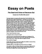 english war poetry essays english poetry in between two wars introduction: the years between the two world wars (1919-1939) witnessed prolific poetic activity it was a period when.