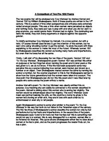 Introduction For Abortion Essay  Shakespeare Sonnets  Analysis Essay  Image   Essays On The Internet also Argumentative Essay For College Shakespeare Sonnets  Analysis Essay  Essay For You Essay On Self Respect