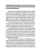 College Essay for High School Senior