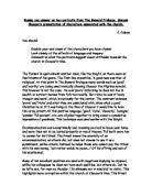 nicholas and absolon essay