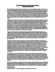 comparative essay for two simon armitage poems revealing human  page 1 zoom in