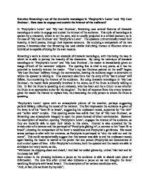 my last duchess as a dramatic monologue pdf