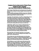 a comparison of character behavior in ticket please and the arch deceiver Full text of the founder of mormonism: a psychological study of joseph smith, jr see other formats.