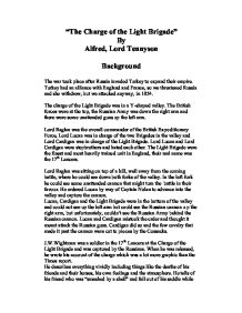 Alfred Tennyson charge of the light brigade