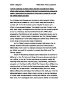 compare and contrast essay the destructors and the child by tiger Compare and contrast home an analysis of the short story the child by tiger by more essays like this: racial to the black community, the child by tiger.