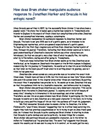 Dracula in Stroker's book and in Coppola's movie essay