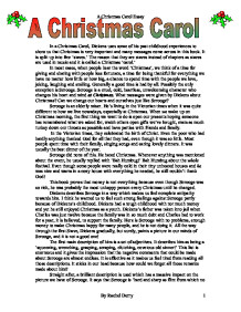a christmas carol in a christmas carol dickens uses some of his  page 1 zoom in