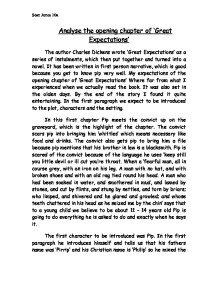 great expectations chapter 39 essay