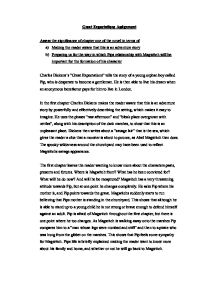 the significance of the great expectations english literature essay Study guide to great expectations 43 pp, $395 ice study guides are constructed to aid the reader of ice classics to achieve a level of critical and literary appreciation befitting the works themselves ideally suited for students themselves and as a guide for teachers, the ice study guides serve as a complement to the treasures of critical appreciation already included in ice titles.